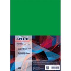 Обложки для переплета Devente А4 картон глянец зелен. (100 шт)