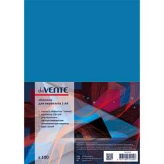 Обложки для переплета Devente А4 картон глянец син. (100 шт)