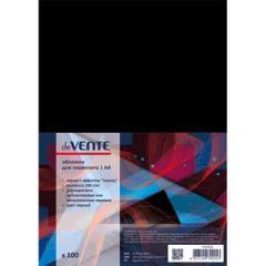 Обложки для переплета Devente А4 картон глянец черн. (100 шт)
