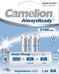 Аккумулятор Hr06/Аа Camelion Alwaysready 2100Mah Ni-Mh