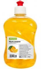 Мыло жидкое Office Clean Апельсин 500мл с дозатором