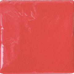 Салфетки бумажные 250Х250мм 50 шт.Интенсив красные