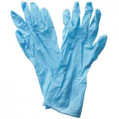 Перчатки нитриловые Хозяюшка L (Б) 3 Пары