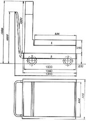 Тележка весовая для сыпучих материалов