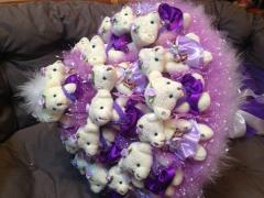 Букеты искусственных цветов в Алматы