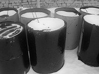 Bitumen oil construction, bitumens oil, bitumens