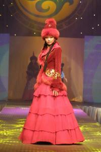 Одежда национальная коллекция Хан тәңірі