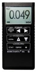 Conductivity measuring instrument Constant K6
