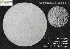 Quartz sand for foundry production