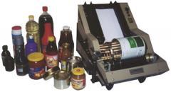 Полуавтоматическая этикеровочная машина ЭМ-3Ц