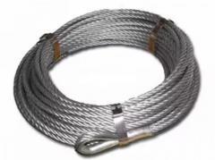 De staal kabels