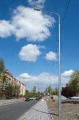 Опора освещения силовая ОГС-0, 7-9-5