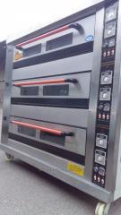 Zharochny furnaces gas 3 tiers 9th tray