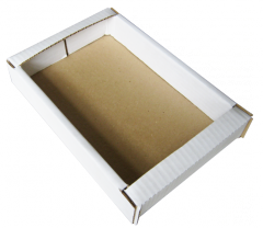 Corrugated box for cookies-200 290-50 white
