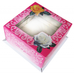 Box full color printing for cakes with the