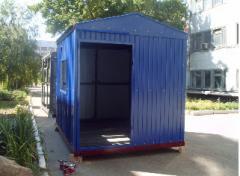 Домики вагончики, бытовки, Блок контейнеры