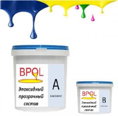 Эпоксидный прозрачный состав/лак Bpol polish