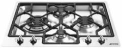 Газовая варочная панель, 62 см, нержавеющая сталь,