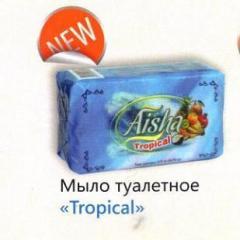 Мыло туалетное Тропик 75гр 5шт, Арт. 0339