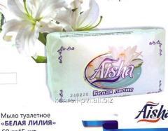 Мыло туалетное Белая лилия 60гр 5шт, Арт. 0445