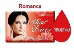 Твердое мыло Miss Paris 125 гр Romance, Арт. 11258