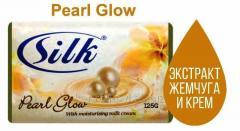 Твердое мыло Silk Soap 125 гр Pearl Glow, Арт.