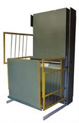 Elevators for disabled people of PPO-2008