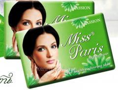 Твердое мыло Miss Paris 125 гр Passion, Арт. 21257