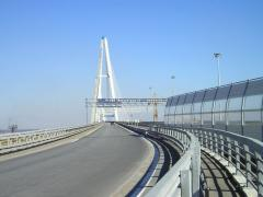 Мостовое ограждение двухстороннее 11МД-1,33-550
