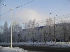 Опора контактной сети трамваев и троллейбусов МКС