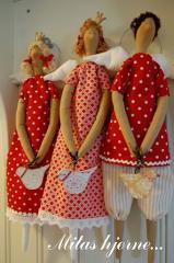 Текстильная кукла - Тильда