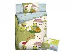 Комлект постельного белья Мармелад Веселые лягушки, арт. 45731721