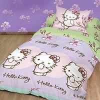 Комплект постельного белья (манеж) Hello Kitty
