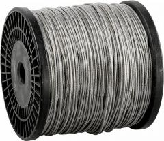 Cable steel galvanized DIN 3055 3 of mm....