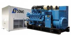 The SDMO diesel generator available in Astana