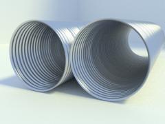 Pipe corrugated LMG-10.20