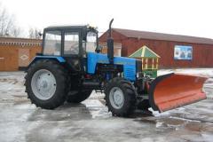 Отвал задний трактора МТЗ-80/82 ОЗ-МТЗ