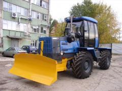 Отвал трактора Т-150 К по типу клин...