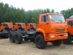 Автомобиль-шасси Камаз 43118-3016-46