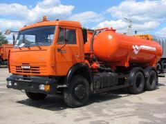 Вакуумная машина  Камаз КО-505Б
