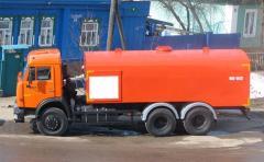 Каналопромывочная машина  Камаз КО-512