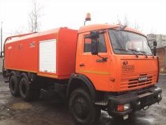 Каналопромывочная машина  Камаз КО-560
