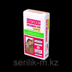 Декоративная штукатурка Decomin 330 travertino -