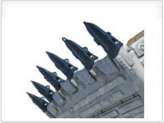 Коронки, адаптеры и зубья ковша экскаватора