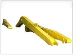 Booms for excavators