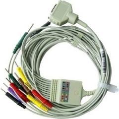 ЭКГ Комплект отведений (10 проводов) для кабеля