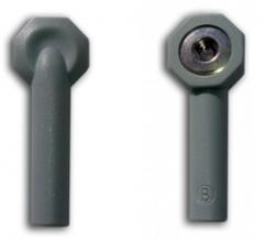ЭКГ Переходник кабеля штекер-кнопка, под штекер