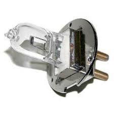 Лампа КГМН 12-30 цоколь PG 22-6.35 (металл.юбка)