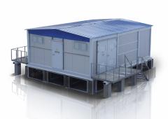 Комплектные трансформаторные подстанции серии КТП 25-250/10(6) У1