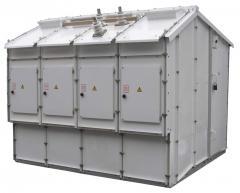 Комплектное распределительное устройство наружной установки серии КМ1-КФ